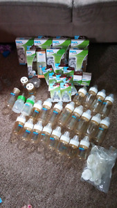Born Free plastic bottle lot