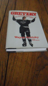 Wayne Gretzky autobiography first edition