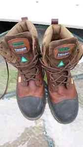 MENS STEEL TOE BOOTS SIZE 13