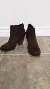 """Call it Spring "" Brown Booties"