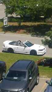 2004 Mustang GT Saleen Convertible with officially Saleen plate