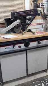 "Craftsman Cabinetmaker 10"" Electronic Radialarm Saw West Island Greater Montréal image 1"