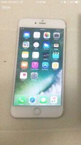 iPhone 6S plus white/silver unlocked