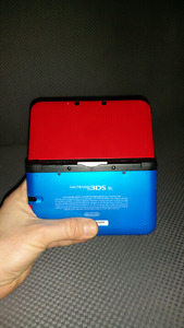 3DS XL - Custom Switch color joycon inspired