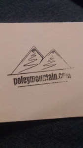 Poly mountain gift certificate for 2!  make an offer!