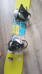 Planche snow Forum+ bottes