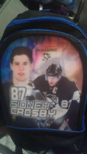 RARE 3D MINT BACKPACK SIDNEY CROSBY PITTSBURGH PENGUINS