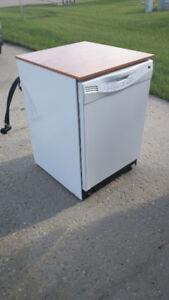 """GE Portable 24"""" Dishwasher"""