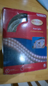 Rope Lights 18 Feet Each, 4 Sets Clear Colour $25 For All