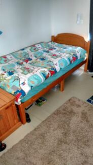 Timber Single Bed Frame - mattress and bedding not included Warners Bay Lake Macquarie Area Preview