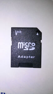 MicroSD Adapter (Convert MicroSD from phone - SD for Laptop)