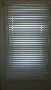 Home trends Cordless Faux wood blinds