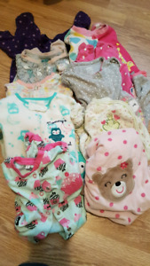 10 pairs of pjs 6 to 9 months