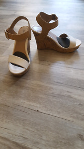 Call it spring size 6 cork wedges