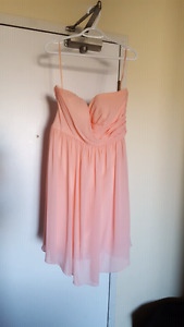 Formal strapless Corset backing dress mint condition