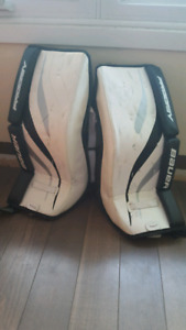 Goalie Pads youth 22""