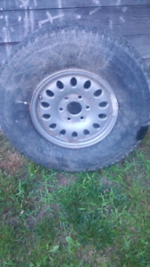 GMC or Chevrolet spare tire & rim
