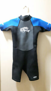 Kids Swimwear, Used Hyperflex Wetsuit  2mm Back Zip  Size 8