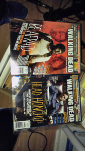 The walking dead magazine - 2 issues