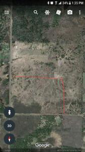 60 acre building lot