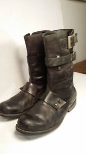 *bottes de moto - motorcycle boots  - homme taille 9