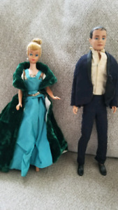Barbie....Ken and Barbie 1959 original dolls
