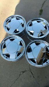 16X7 6 Lug wheels