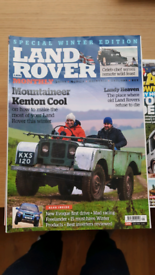 FREE Land Rover Monthly magazines.