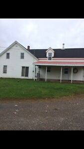 House and barn on 4 acres