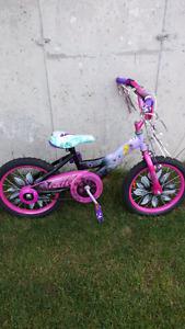 Bicyclette pour petite fille (fée clochette )