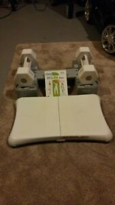 NINTENDO WII FIT PLUS BUNDLE FOR SALE LOTS OF EXTRAS
