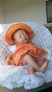 BEAUTIFUL REBORN DOLL - BABY GIRL -  21 inches -