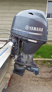 60/40 yamah jet with controls and fuel tank