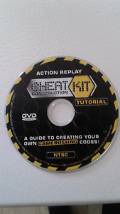 Action Replay Cheat Kit Tutorial GameCube