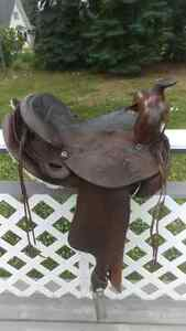 Western saddle for sale-Can bring to PG Dec3rd Prince George British Columbia image 4