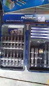 Drill bit sets - Mastercraft, dewalt, ryobi, skil, craftsman etc Kitchener / Waterloo Kitchener Area image 1