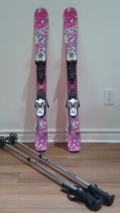 K2 Luv Bug 100 CM SKIS For Girls (Used twice)