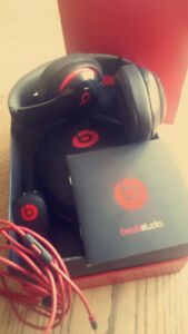 Black and Red - *Beats By Dre. *Studio* wireless headphones