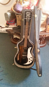 Ibanez AMF73 Semi-Hollow Electric Guitar - Case Included!