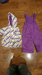 Winter snow suit 12 months