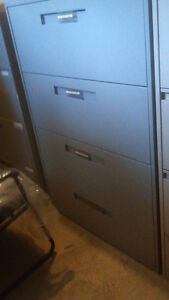 Used Steelcase 4 drawer Lateral