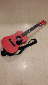 STUDENT GUITAR, REAL GUITAR MADE FOR KIDS SIZE;