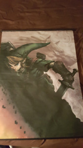 The Legend Of Zelda Fabric Wall Poster