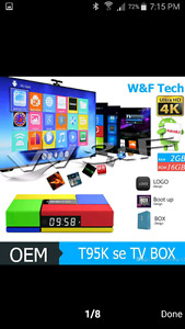 T95K se android tv box