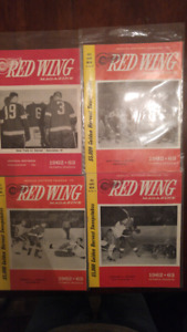 1962-63 and 1963-64 Detroit Red Wings Programs