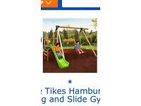 Little tikes Hamburg swing and slide gym set