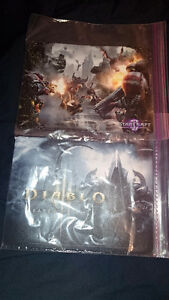 l m selling  Starcraft II Gaming Mouse Pad and Diablo III gaming
