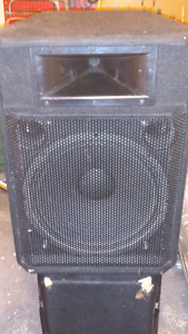 Pair of Wharfedale EVP 15P Active Speakers