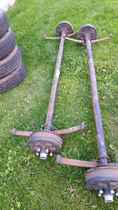 Axles and Tires