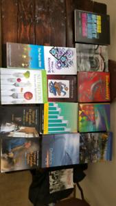 University text books. Trade